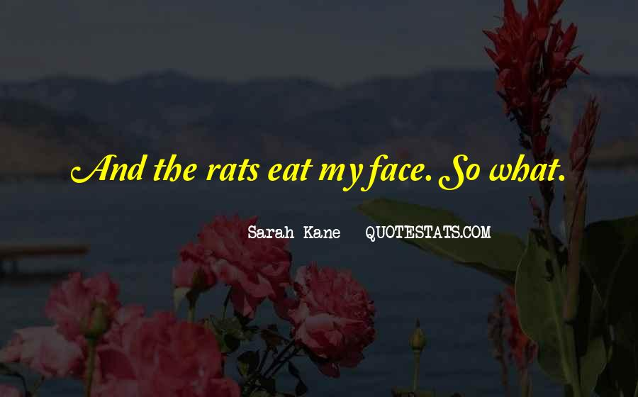 Quotes About Rats #301411
