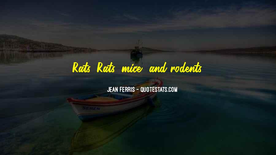 Quotes About Rats #345101