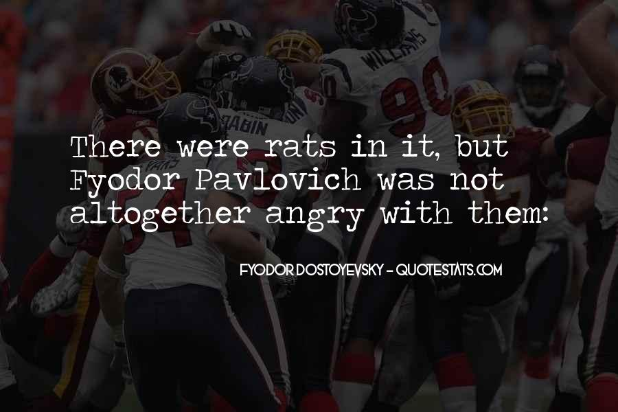 Quotes About Rats #86168
