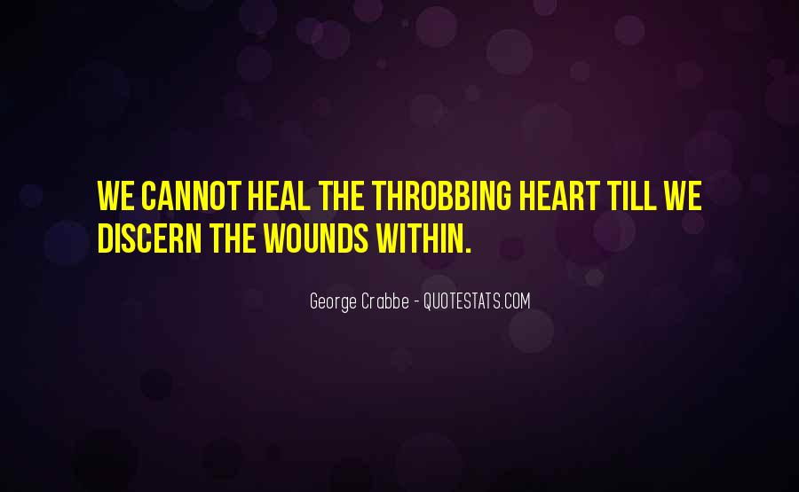 Quotes About Throbbing Heart #372383