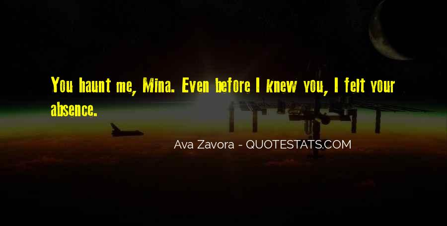 Quotes About Mina #621003