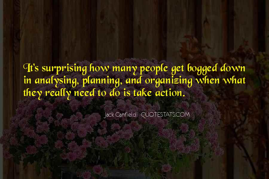 Quotes About Organizing And Planning #1573839