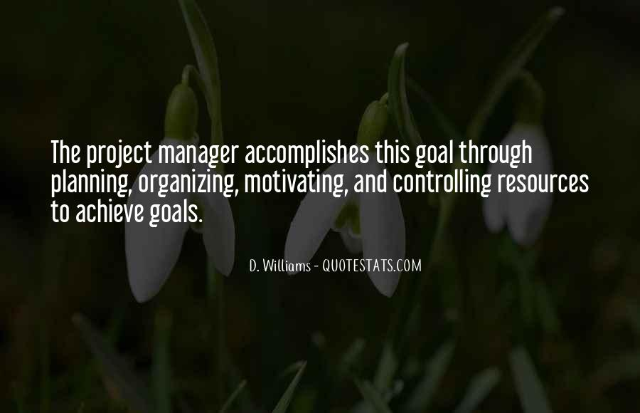Quotes About Organizing And Planning #547882