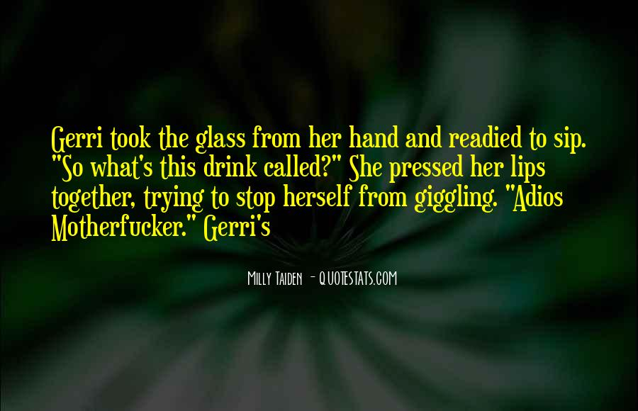 Quotes About Giggling #107568