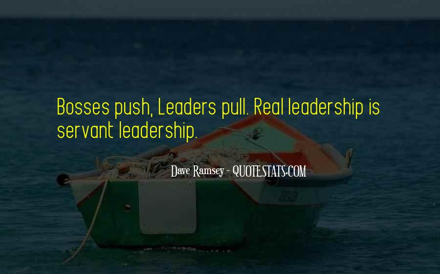 Quotes About Leader Vs Boss #1221190