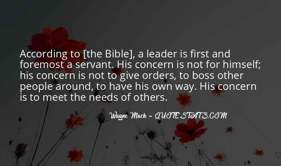 Quotes About Leader Vs Boss #1310095