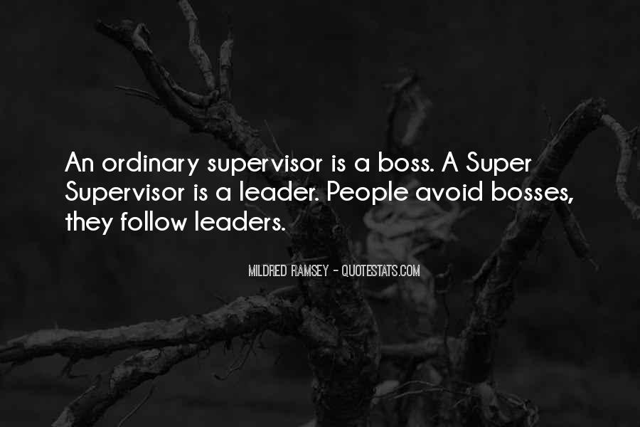 Quotes About Leader Vs Boss #136869