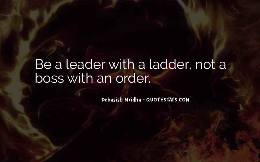 Quotes About Leader Vs Boss #1473955