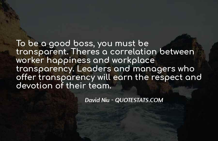 Quotes About Leader Vs Boss #1592771