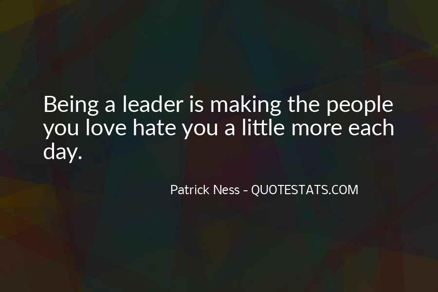Quotes About Leader Vs Boss #236797