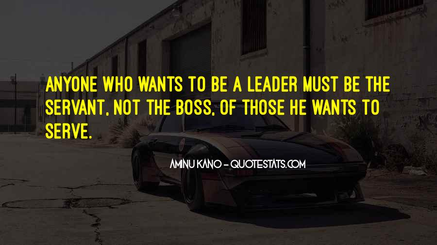 Quotes About Leader Vs Boss #787930