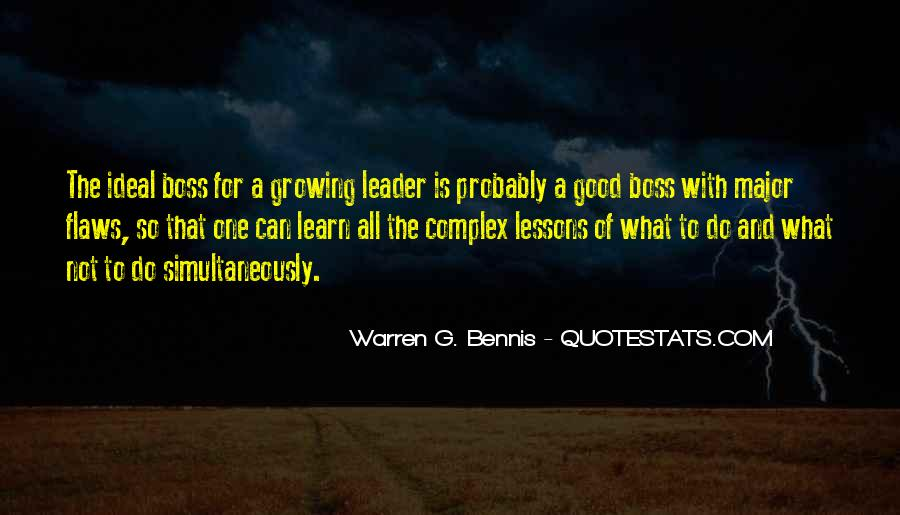 Quotes About Leader Vs Boss #826630