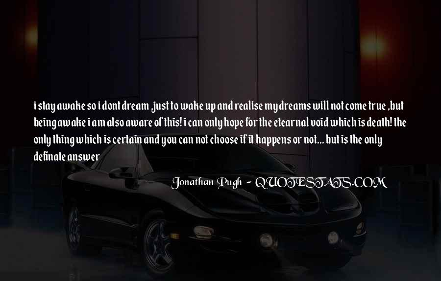 Quotes About Dream And Hope #179916