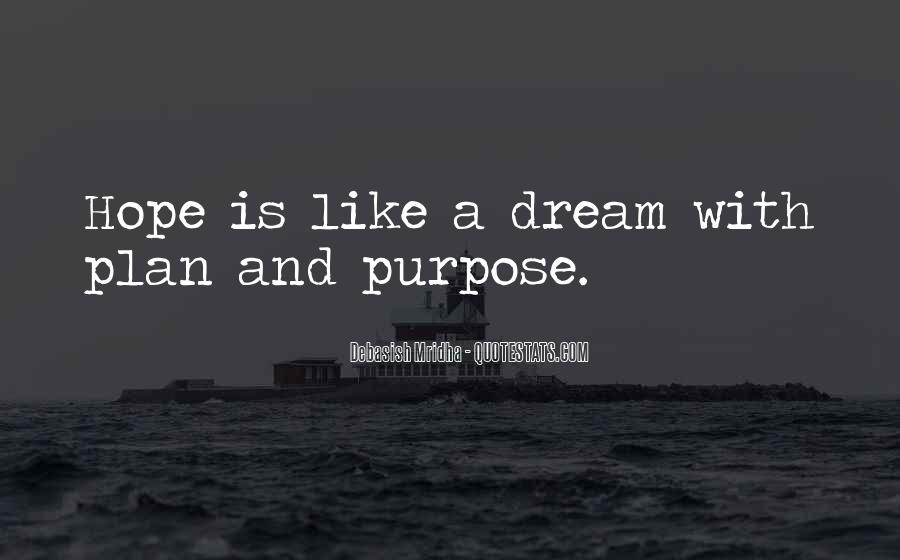 Quotes About Dream And Hope #351620