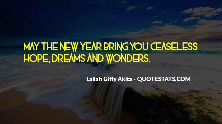 Quotes About Dream And Hope #528347