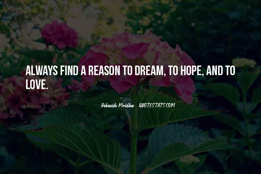 Quotes About Dream And Hope #662196
