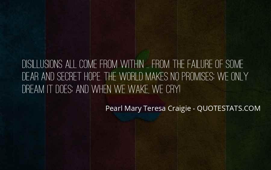 Quotes About Dream And Hope #695462