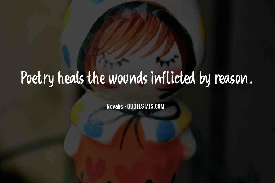 Quotes About Self Inflicted Wounds #1064394