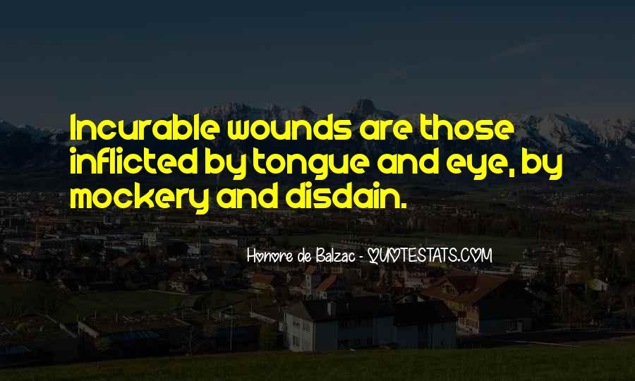 Quotes About Self Inflicted Wounds #120033