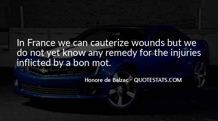 Quotes About Self Inflicted Wounds #1474204