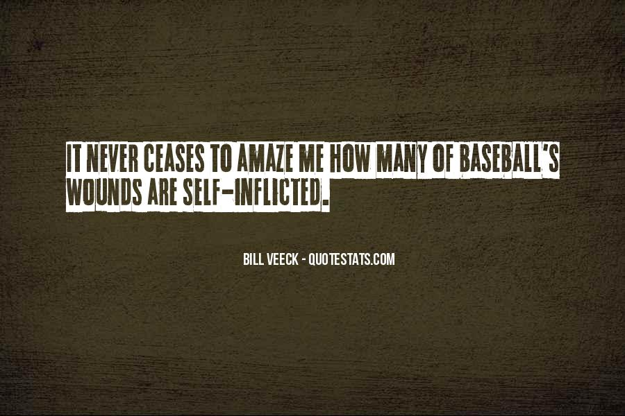 Quotes About Self Inflicted Wounds #1497188