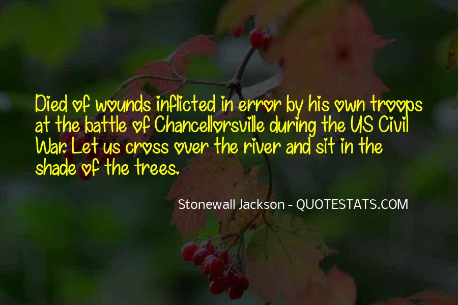 Quotes About Self Inflicted Wounds #251381