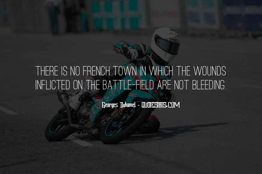 Quotes About Self Inflicted Wounds #710860