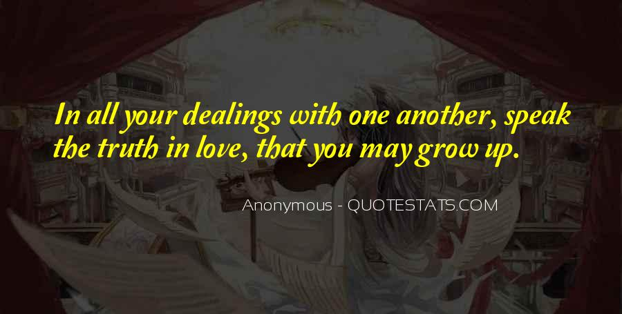 Quotes About Love One Another #103253