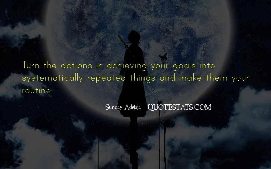 Quotes About Repeated Success #1232562