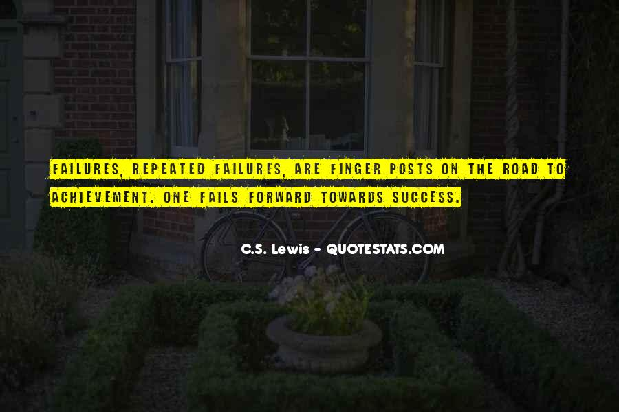 Quotes About Repeated Success #1845476