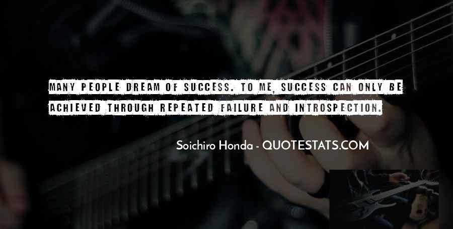 Quotes About Repeated Success #773791
