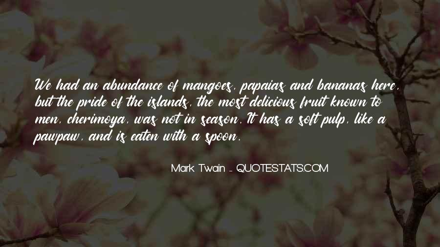 Quotes About Mangoes #942290