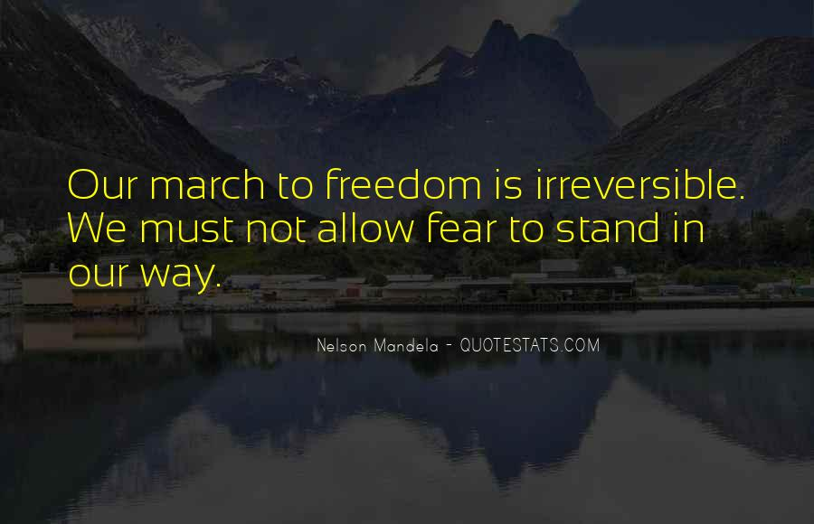 Quotes About Fear Nelson Mandela #1026021