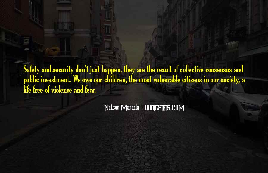 Quotes About Fear Nelson Mandela #1192265