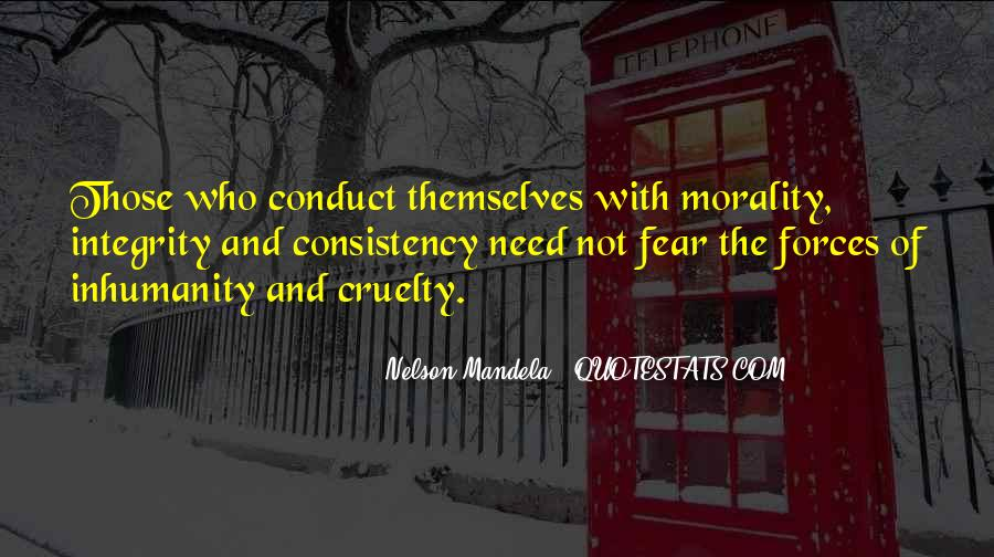 Quotes About Fear Nelson Mandela #1192381