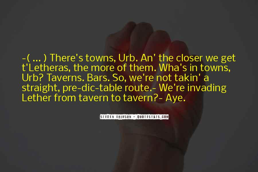 Quotes About Taverns #408579