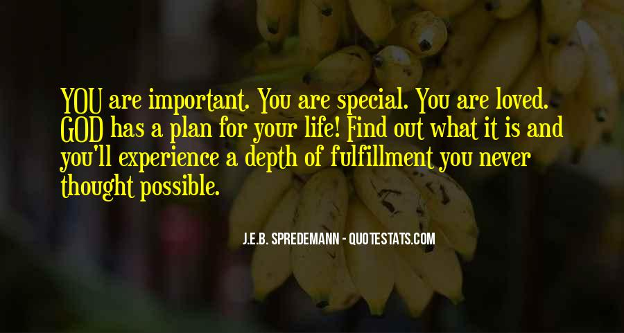 Quotes About God Has A Plan For You #1209489
