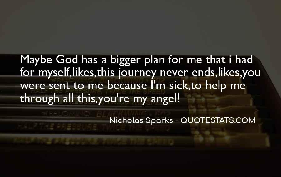 Quotes About God Has A Plan For You #811812