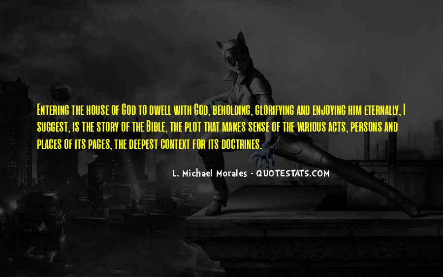 Quotes About Entering #160741