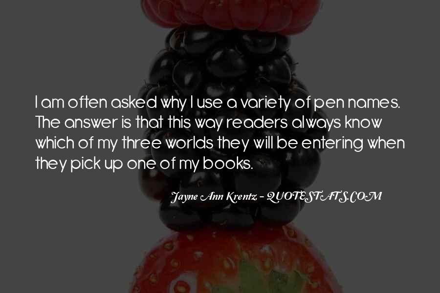 Quotes About Entering #185036