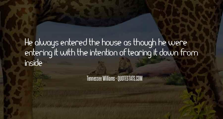 Quotes About Entering #322902