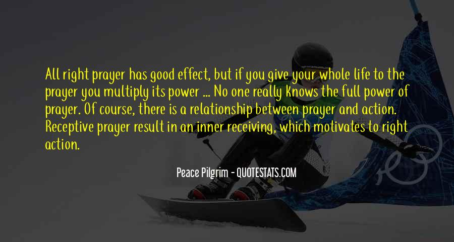Quotes About Prayer And Action #1623382
