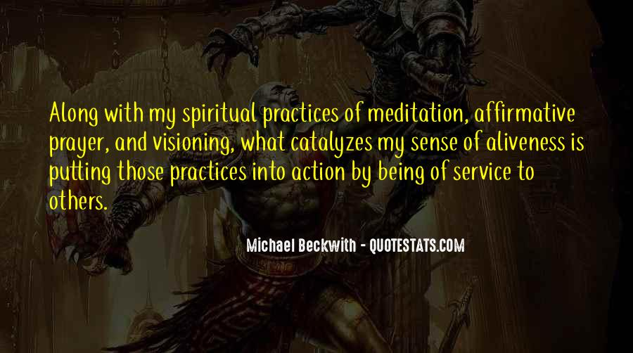 Quotes About Prayer And Action #516916