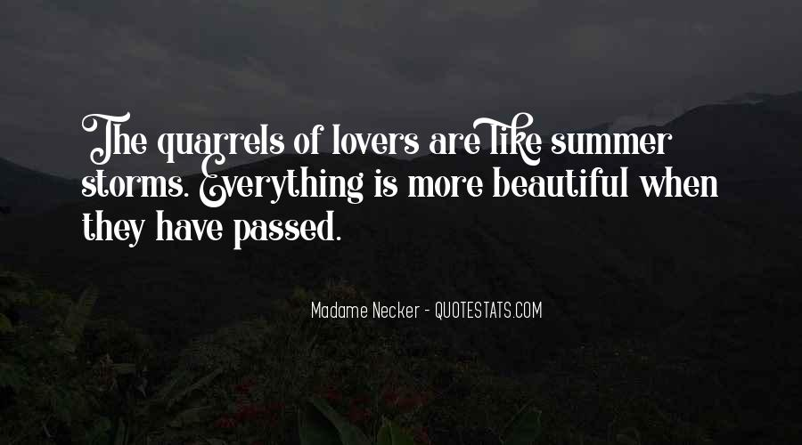 Quotes About Lovers Quarrels #133607