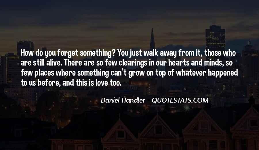 Quotes About Something You Can't Forget #1071083
