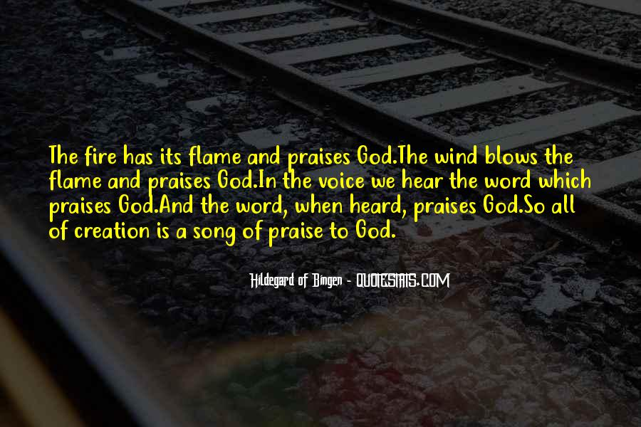 Quotes About Praises To God #248685
