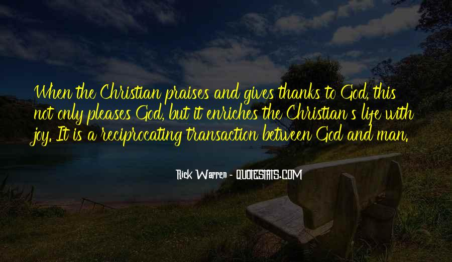 Quotes About Praises To God #363869