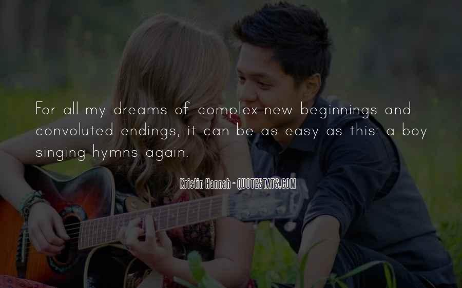 Quotes About Endings And New Beginnings #1272609