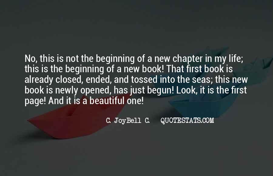 Quotes About Endings And New Beginnings #1503437