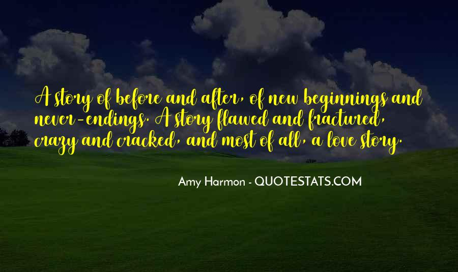 Quotes About Endings And New Beginnings #1534960